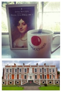 Croxteth Hall, coffee and a good book