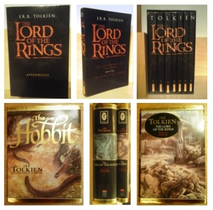 Both editions of Lord of the Rings