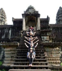 The Moo Crew at Angkor Wat