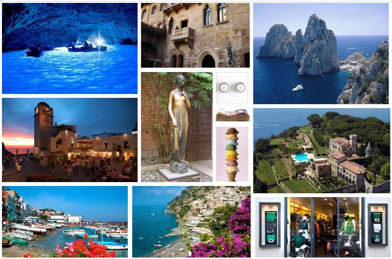 I Love Capri storyboard picture challenge